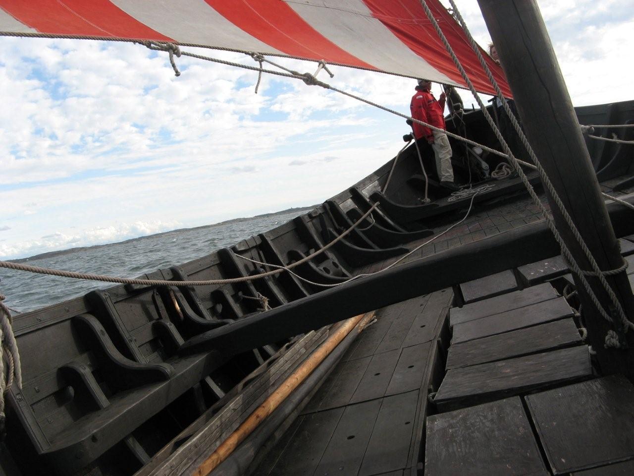 Vidfamne under segling