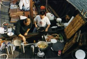 Matlagning ombord